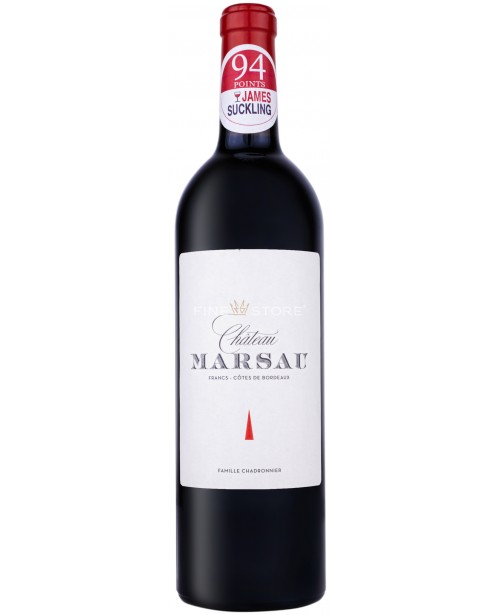 Chateau Marsau Francs - Cotes De Bordeaux 0.75L