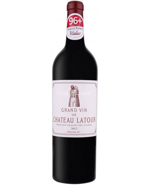 Chateau Latour Pauillac Premier Grand Cru Classe 2012 0.75L