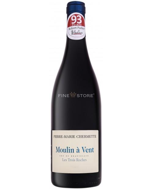 Domaines Chermette Moulin A Vent Les Trois Roches 0.75L