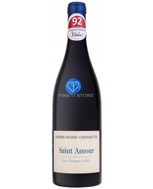 Domaines Chermette Saint Amour Les Champs Grilles 0.75L