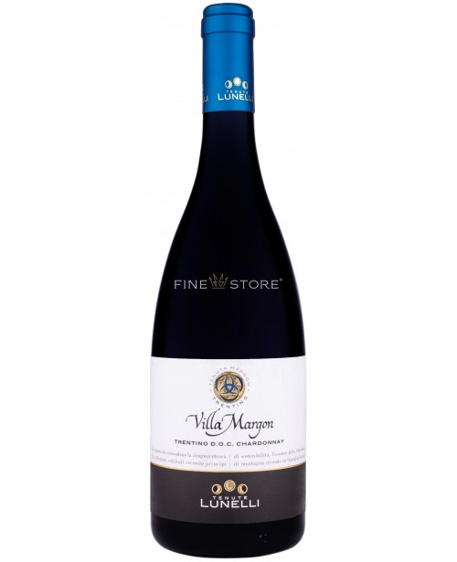 Tenute Lunelli Villa Margon Trentino Chardonnay 0.75L Top