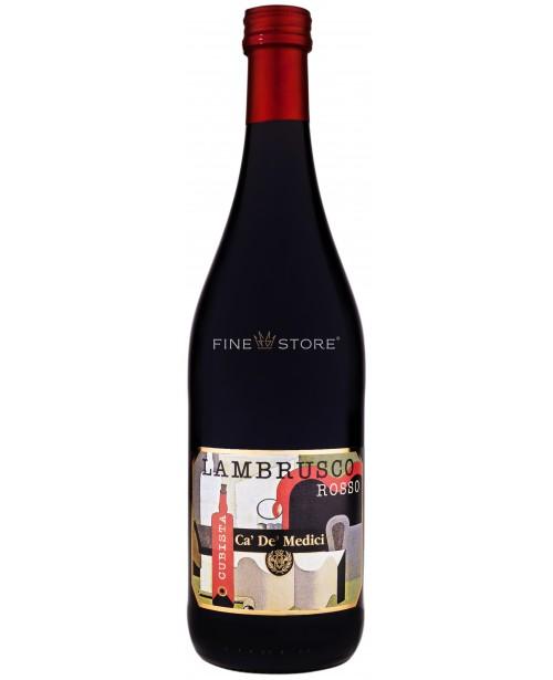 Ca' De' Medici Lambrusco Dell 'Emilia Cubista Rosso 0.75L