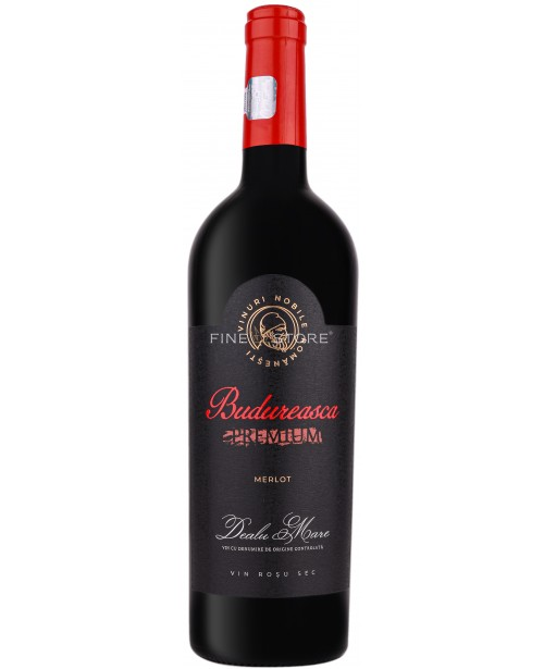 Budureasca Premium Merlot 0.75L