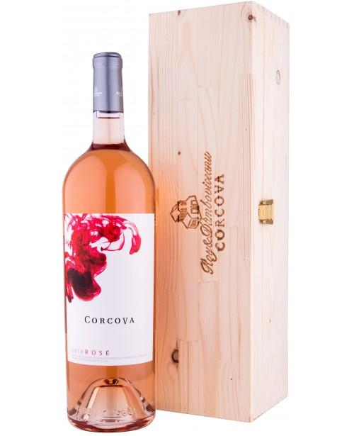 Corcova Rose cu Cutie Lemn 1.5L Top