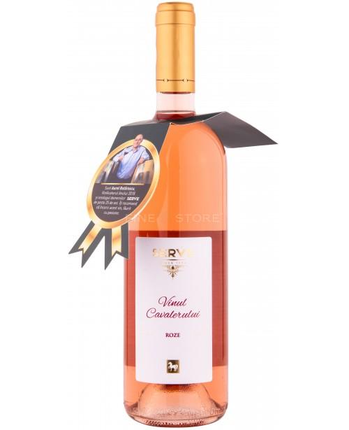 Serve Vinul Cavalerului Roze 0.75L