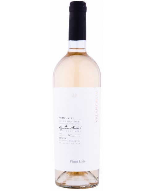 Tohani Valahorum Pinot Gris 0.75L Top