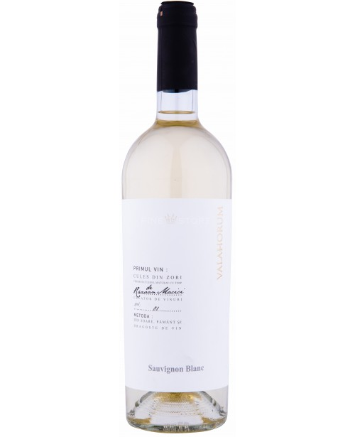 Valahorum Sauvignon Blanc 0.75L Top