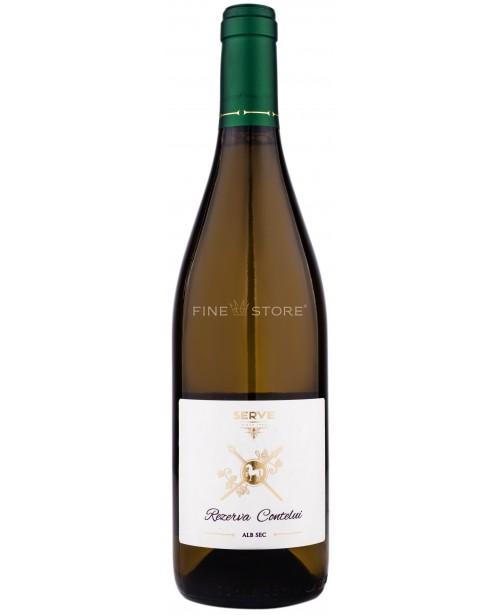 Serve Vinul Cavalerului Rezerva Contelui Chardonnay 0.75L Top