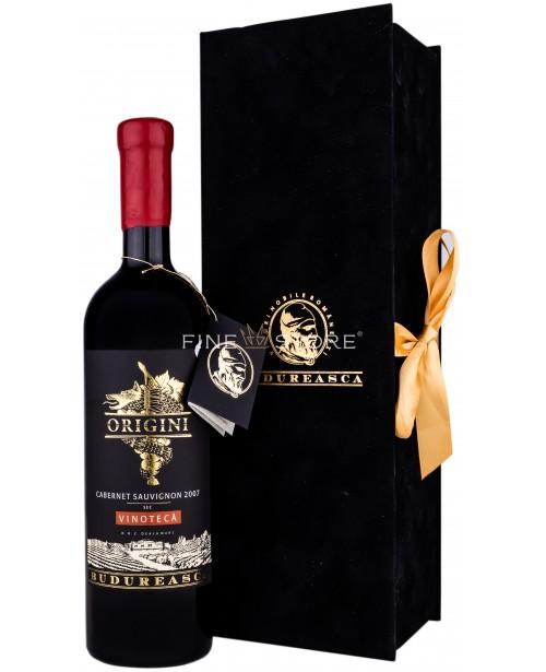 Budureasca Origini Vinoteca Cabernet Sauvignon Cutie Catifea Cadou 0.75L