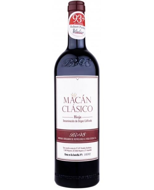 Bodegas Benjamin De Rothschild - Vega Sicilia Macan Clasico Rioja 0.75L