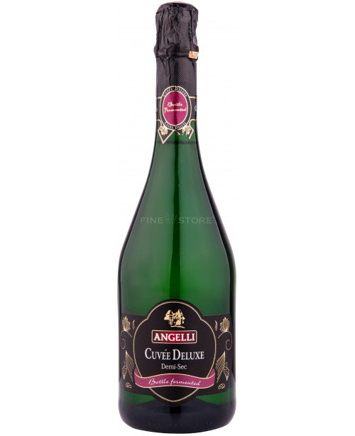Angelli Cuvee Deluxe Demisec 0.75L Top