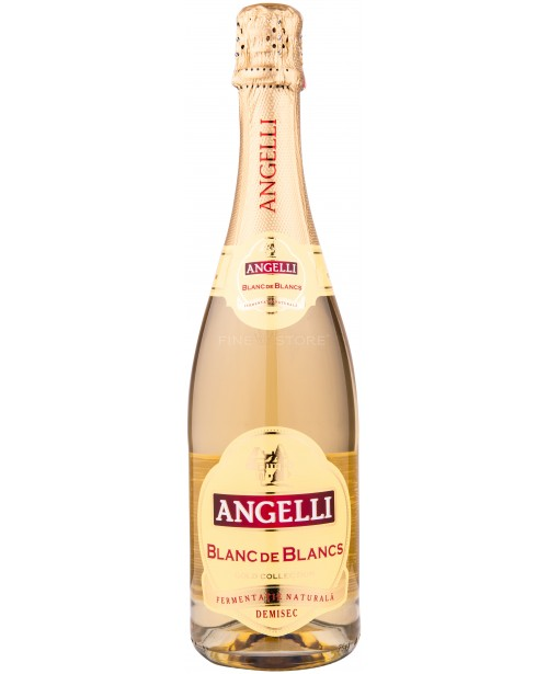 Angelli Blanc de Blancs Demisec 0.75L Top