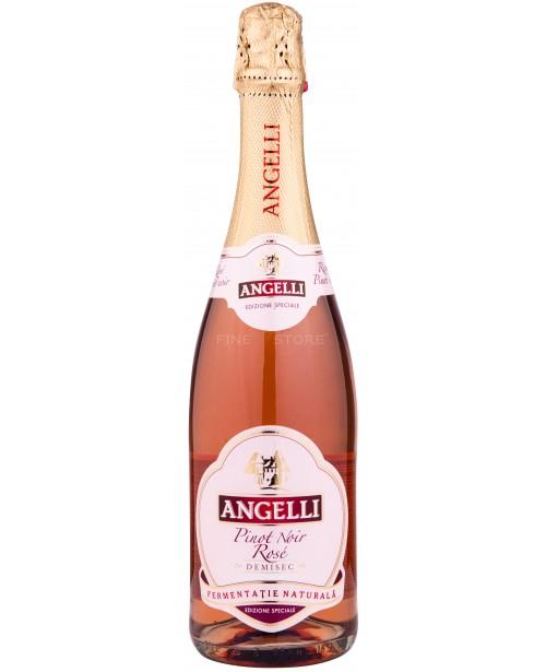 Angelli Pinot Noir Rose Demisec 0.75L Top