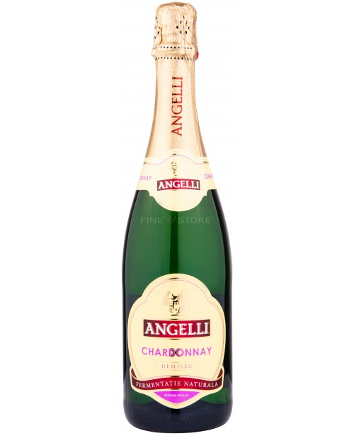 Angelli Chardonnay Demisec 0.75L Top