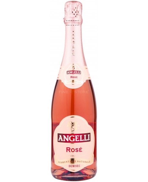 Angelli Rose Demisec 0.75L Top