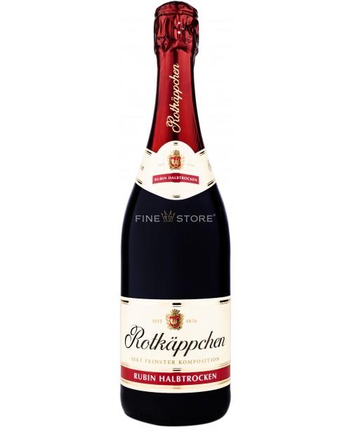 Rotkappchen Rubin Halbtrocken Sec 0.75L
