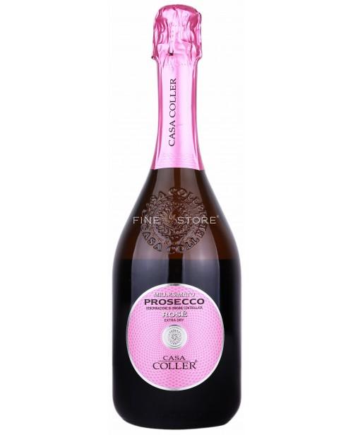 Casa Coller Prosecco Rose Extra Dry 0.75L