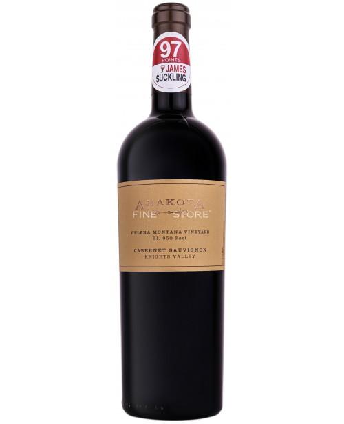 Anakota Helena Montana Vineyard Cabernet Sauvignon 0.75L