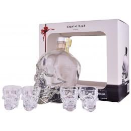 Crystal Head Cu 4 Pahare Shot 0.7L