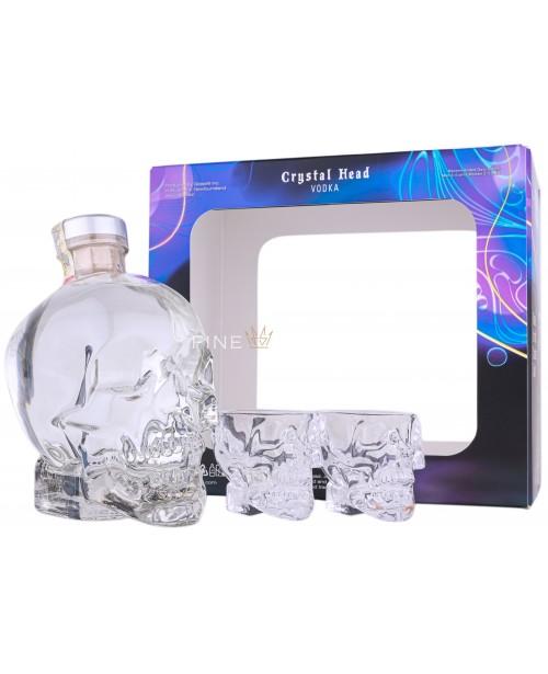 Crystal Head Cu 2 Pahare Shot 0.7L