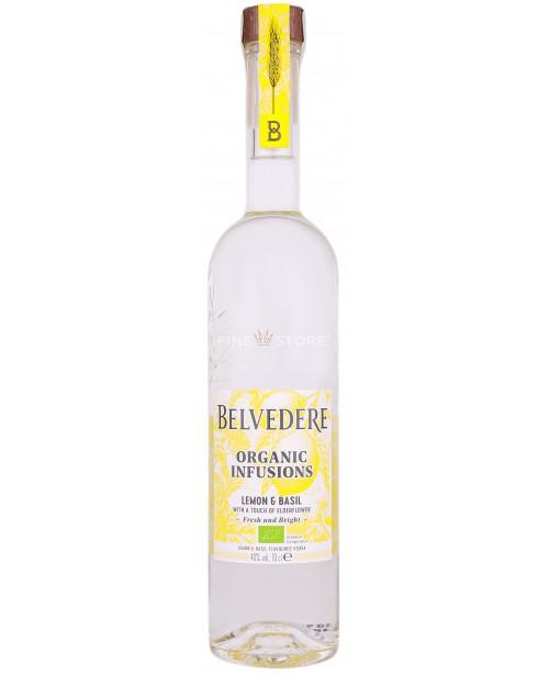 Belvedere Organic Infusions Lemon & Basil 0.7L