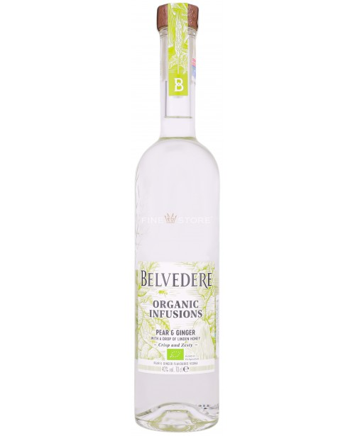 Belvedere Organic Infusions Pear & Ginger 0.7L