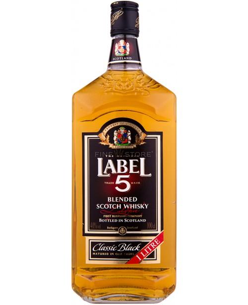 Label 5 Classic Black 1L