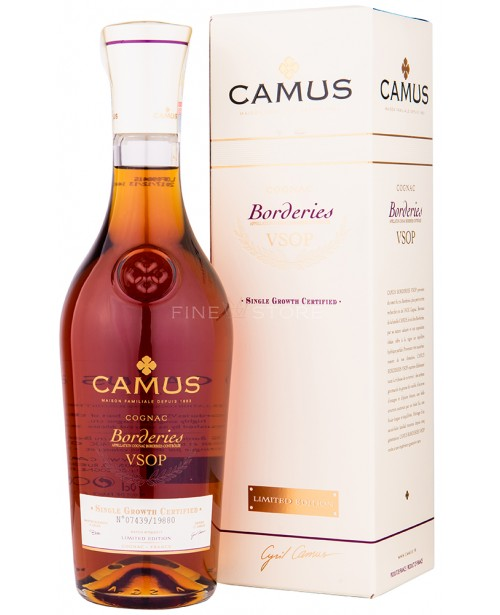 Camus VSOP Borderies Limited Edition 0.7L Top