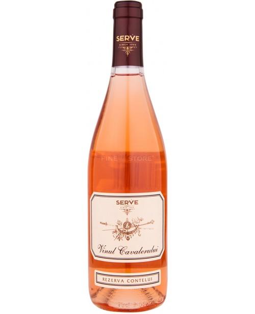 Serve Vinul Cavalerului Rezerva Contelui Roze 0.75L