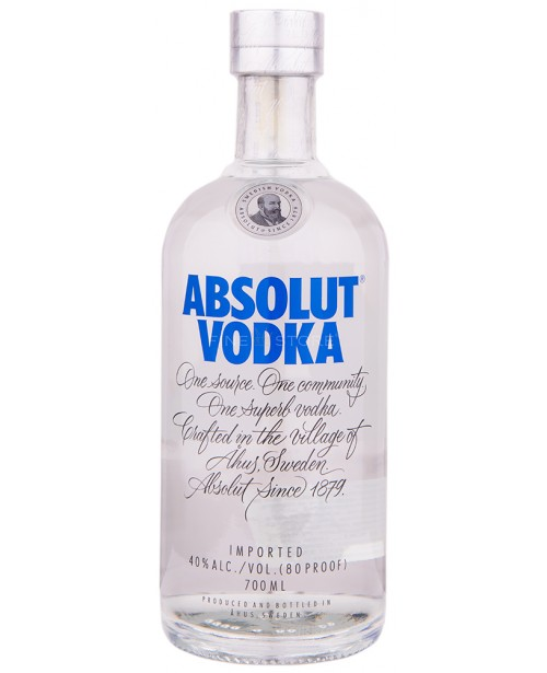 Absolut Blue 0.7L Top