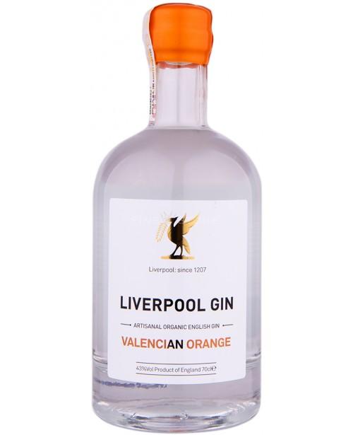 Liverpool Organic Gin Valencian Orange 0.7L
