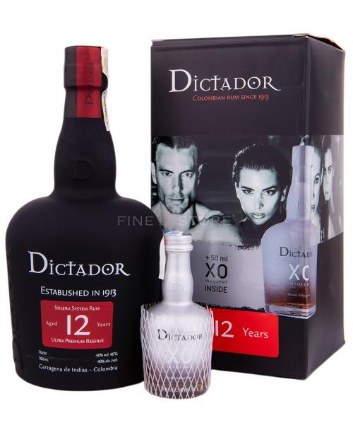 Dictador 12 Ani cu Miniatura XO Insolent 0.75L