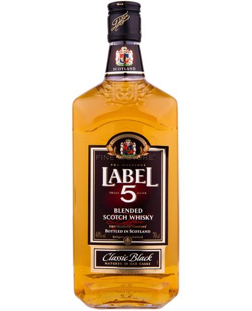Label 5 Classic Black 0.7L