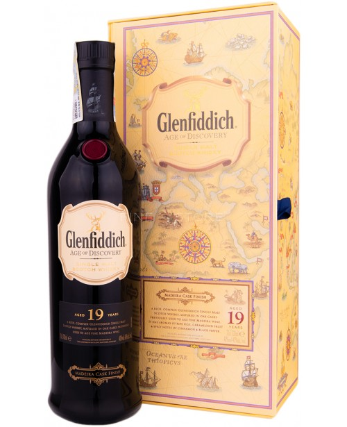 Glenfiddich 19 Ani Age of Discovery Madeira 0.7L