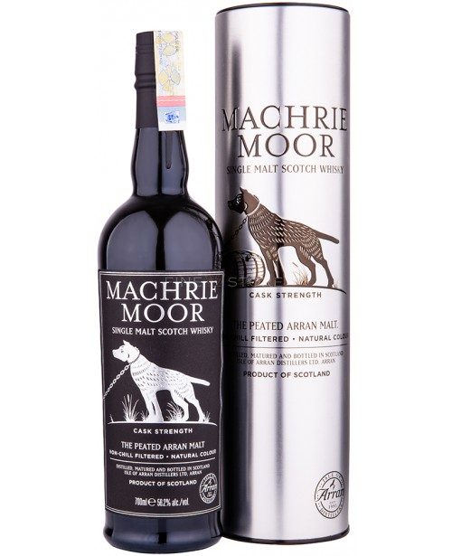 Arran Machrie Moor Peated Cask Strength 0.7L Top