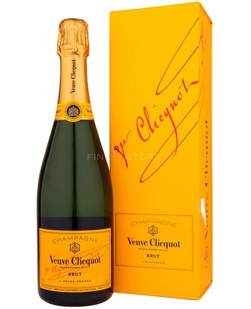 Veuve Clicquot Brut Cutie Cadou 0.75L