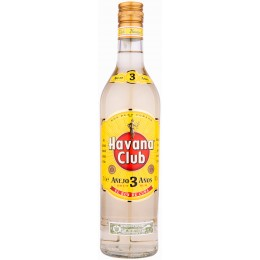 Havana Club Anejo Blanco 3 Ani 0.7L