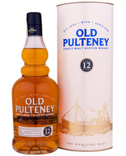 Old Pulteney 12 Ani 0.7L Top