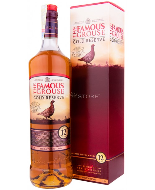 Famous Grouse Gold Reserve 12 Ani 1L