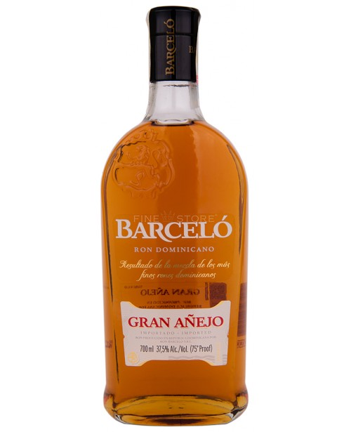Barcelo Gran Anejo Ron 0.7L Top