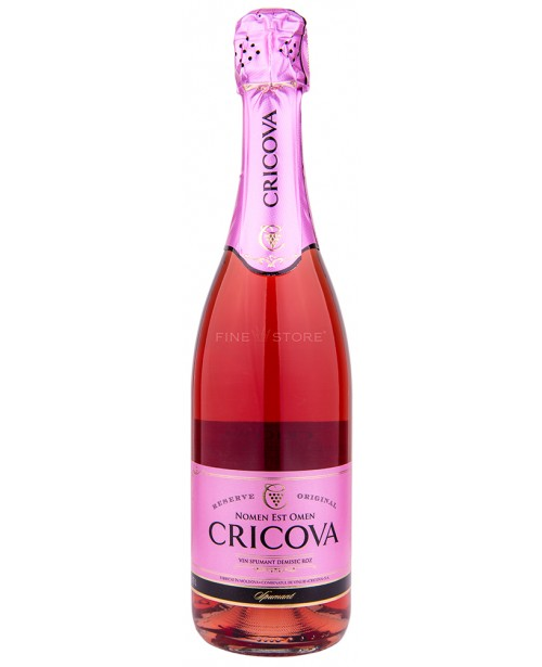 Cricova Demisec Rose 0.75L