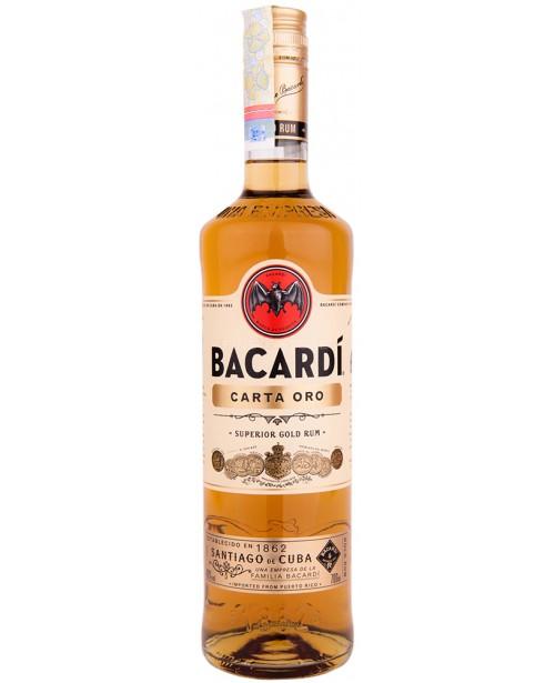 Bacardi Carta Oro Gold 0.7L Top
