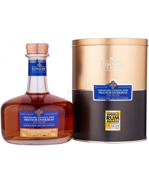 French Overseas XO Remarkable Regional Rums 0.7L