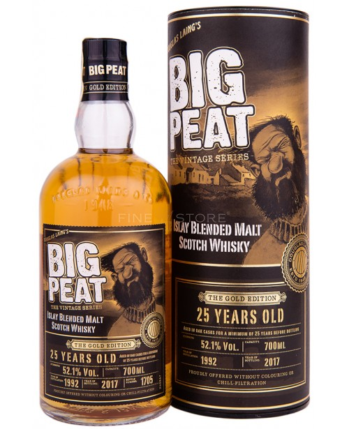 Big Peat 25 Year Old The Gold Edition 0.7L Top