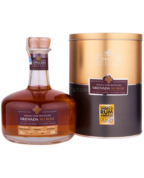 Grenada XO Single Cask Bottling Rum 0.7L