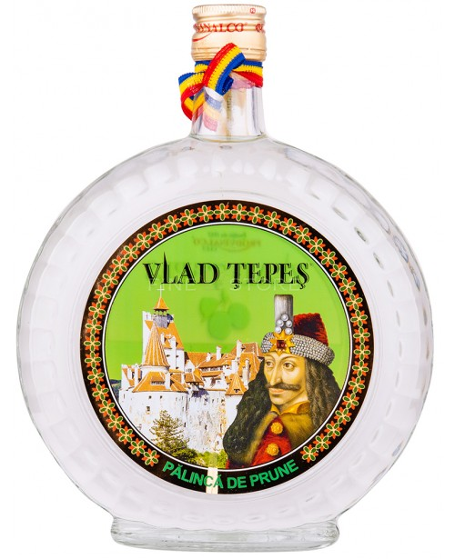 Vlad Tepes Palinca de Prune 0.7L Top