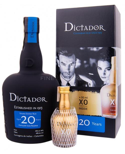 Dictador 20 Ani cu Miniatura XO Perpetual 0.75L