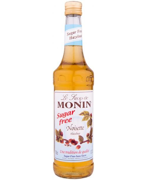 Monin Hazelnut Sugar Free Sirop 0.7L
