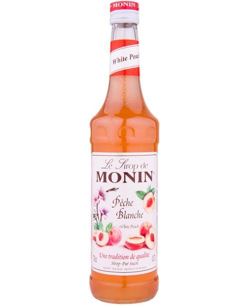 Monin White Peach Sirop 0.7L