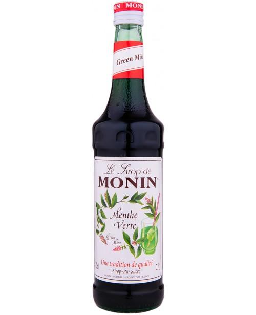 Monin Green Mint Sirop 0.7L